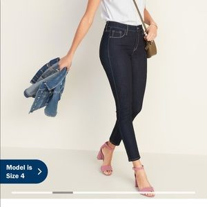 Old Navy High-Waisted Rockstar Super Skinny Jeans